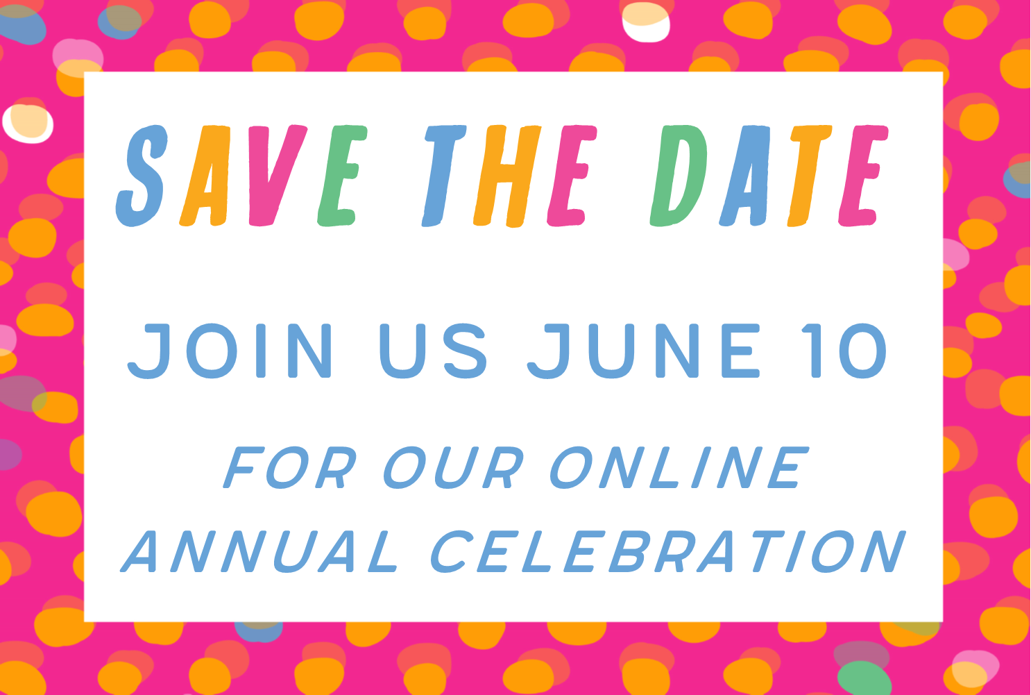 Annual Celebration Online